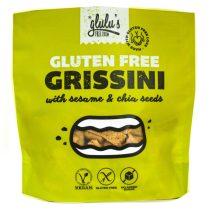 glulu's  FreeFrom zuckerfreie Grissini mit Körnern 100 g (glutenfrei, vegan, sojafrei)