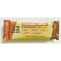 Häppchen Gerbeaud Orangen-Vitaminriegel (glutenfrei,  vegan, ohne Zuckerzusatz)