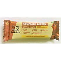 Häppchen Gerbeaud Orangen-Walnuss Fruchtriegel 40 g MHD: 07.11.21 (glutenfrei,  vegan, ohne Zuckerzusatz)