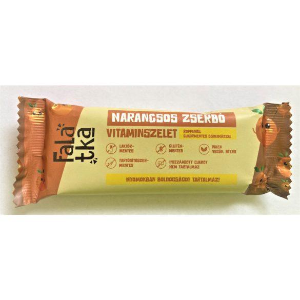 Häppchen Gerbeaud Orangen-Walnuss Fruchtriegel 40 g (glutenfrei,  vegan, ohne Zuckerzusatz)