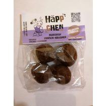 Häppchen Marzipan Protein Bällchen 4x25 g ( glutenfrei,  vegan, paleo, ohne Zuckerzusatz)
