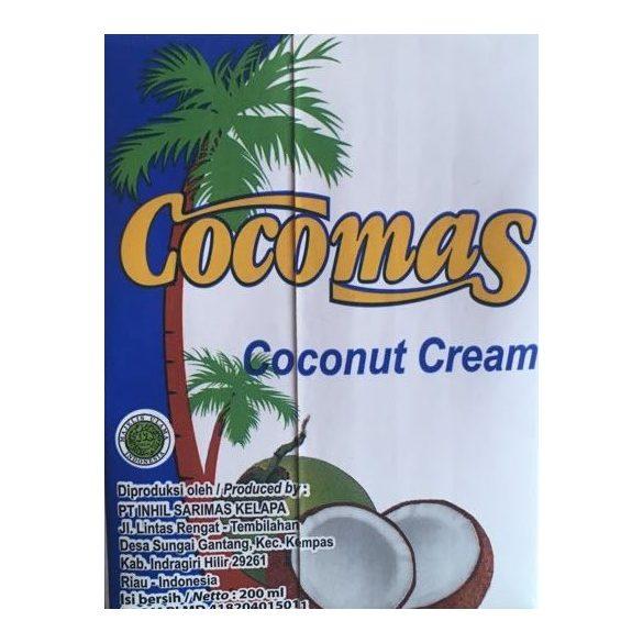 Cocomas  Kokoscreme (Kokossahne) 200ml