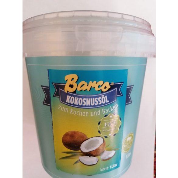 Barco Kokosöl (1000ml) im Eimer