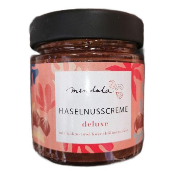 Mendula deluxe Haselnusscreme (78% Haselnüsse) mit Kokosblütenzucker 180 g