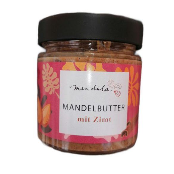 Mendula Mandelbutter (88% Mandeln) mit Kokosblütenzucker und Zimt 180 g