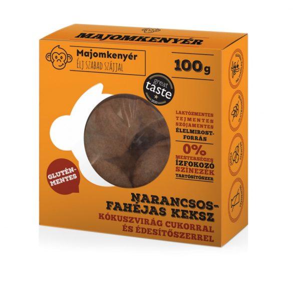 Affenbrot Zimt-Orangenkekse mit Kokosblütenzucker und Süßungsmitteln (50 g)