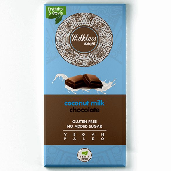 Paleo Schokolade mit Kokosmilch 80 g