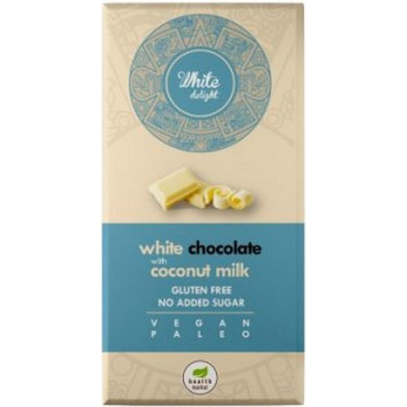 Paleo weiße Schokolade mit Kokosmilch 80 g