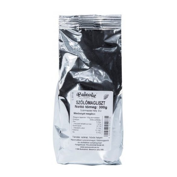 Paleolit Traubenkernmehl fein gemahlen, teilentölt 300 g