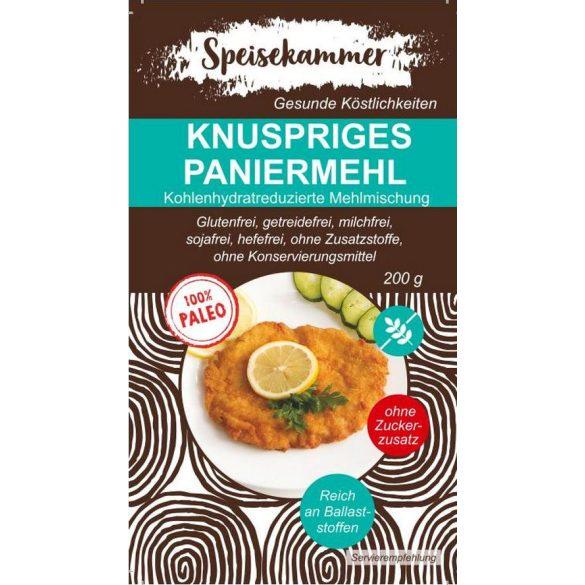 Speisekammer Knuspriges Paniermehl 200 G (Paleo, glutenfrei, maisfrei, sojafrei, kohlenhydratreduziert)