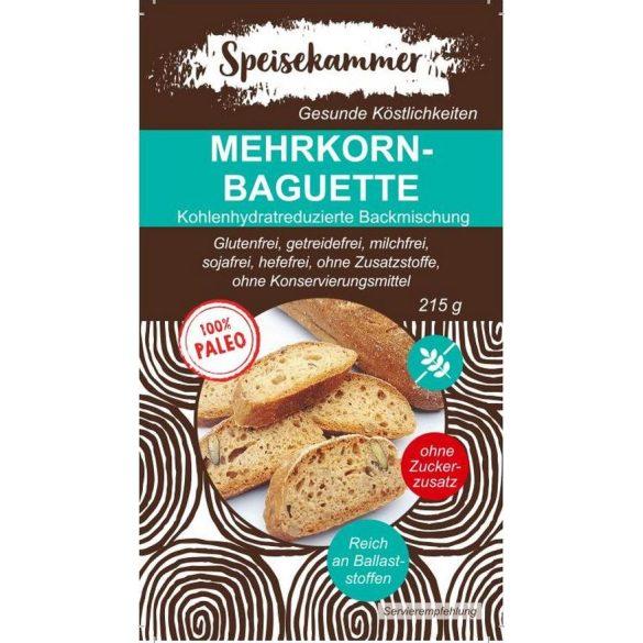 Speisekammer Mehrkornbaguette Backmischung 215 G (Paleo, glutenfrei, maisfrei, sojafrei, kohlenhydratreduziert)