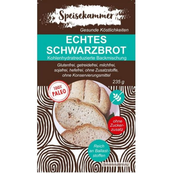 Speisekammer Echtes Schwartzbrot Backmischung