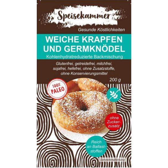 Speisekammer Weiche Krapfen und Germknödel Backmischung 200 G (paleo, glutenfrei, maisfrei, sojafrei, kohlenhydratreduziert)