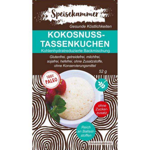 Speisekammer Kokosnuss-Tassekuchen Backmischung 52 G (Paleo, glutenfrei, maisfrei, sojafrei, kohlenhydratreduziert)