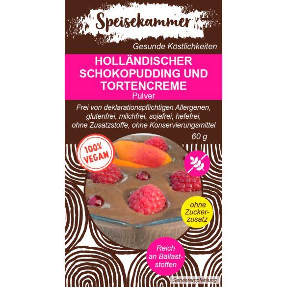 Speisekammer Veganer Holländischer Schokocremepudding Pulver