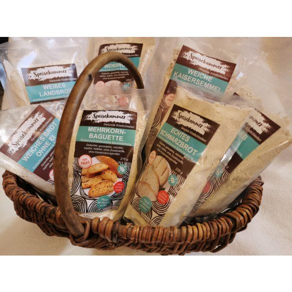 Speisekammer Paleo Brotbackmischung Kennenlernpaket (glutenfrei, maisfrei, sojafrei, kohlenhydratreduziert)